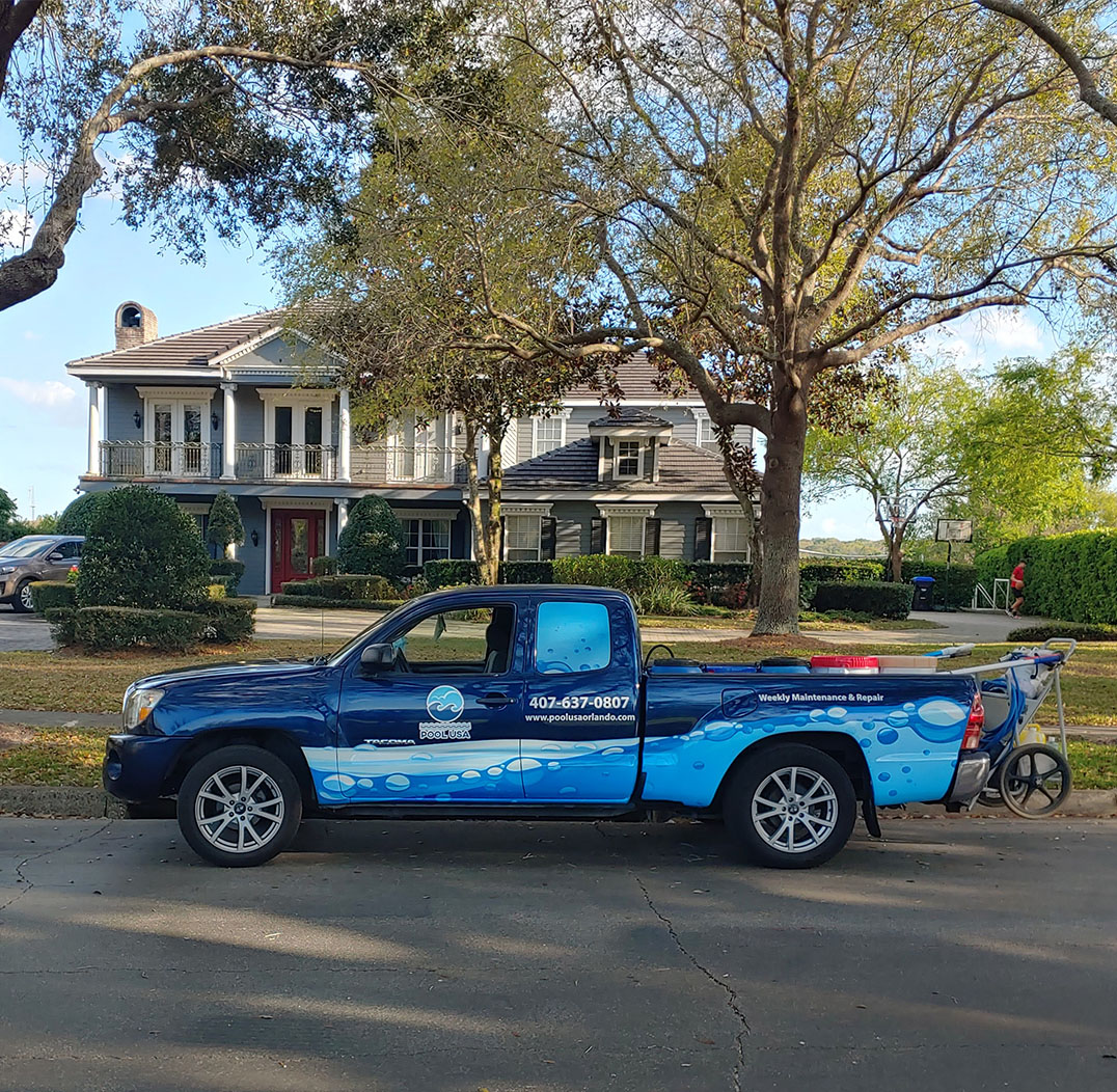 Pool USA Truck